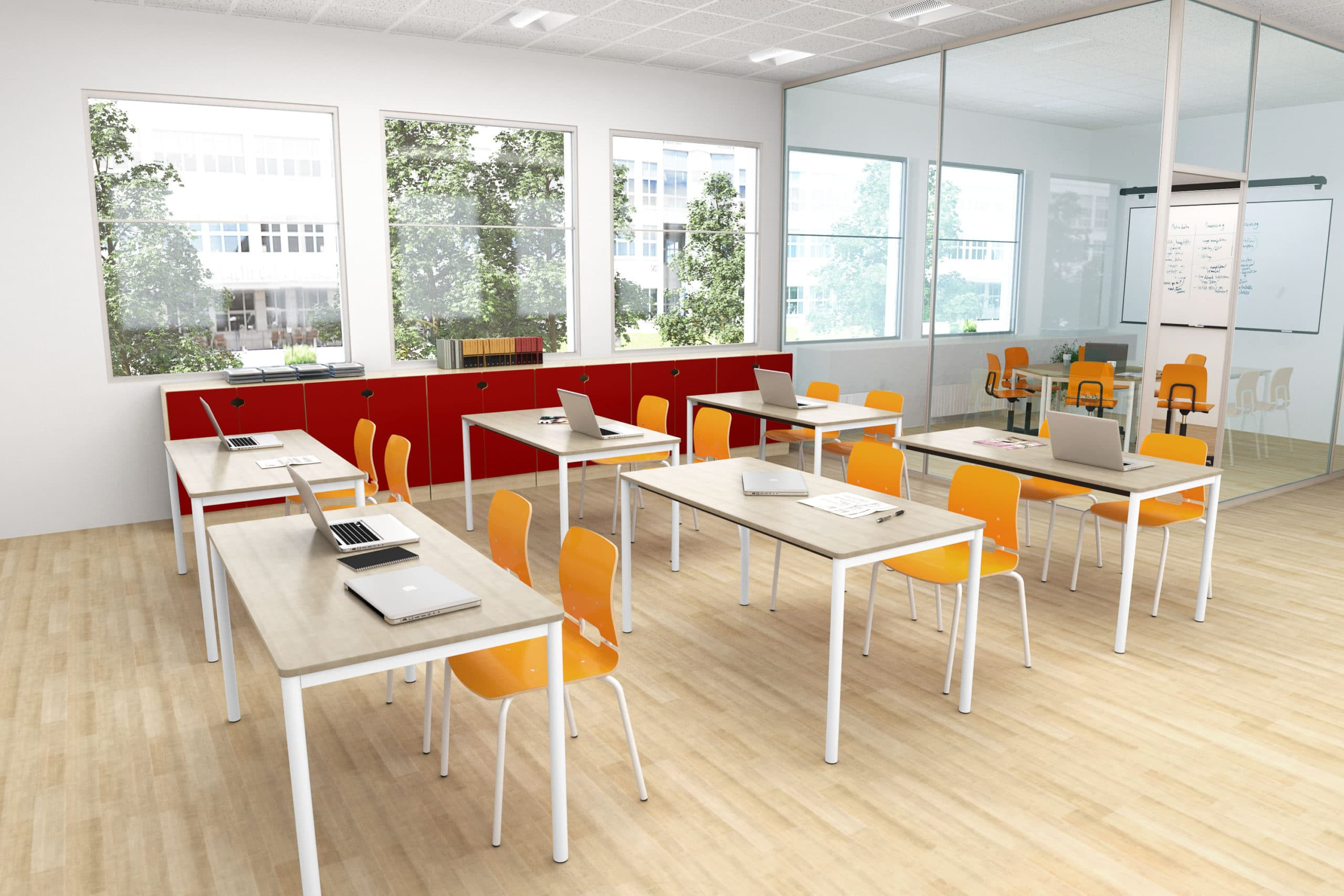 Modern Montessori Classroom ~ Lärmiljö amerikanska gymnasiet